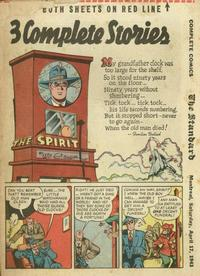 Cover Thumbnail for The Spirit (Register and Tribune Syndicate, 1940 series) #4/18/1943