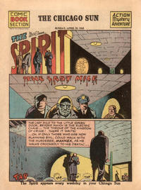 Cover Thumbnail for The Spirit (Register and Tribune Syndicate, 1940 series) #4/25/1943