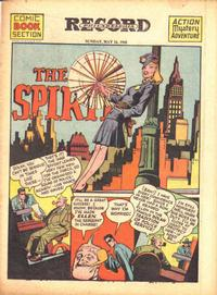 Cover Thumbnail for The Spirit (Register and Tribune Syndicate, 1940 series) #5/16/1943