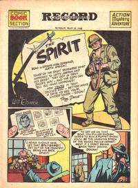 Cover Thumbnail for The Spirit (Register and Tribune Syndicate, 1940 series) #5/23/1943
