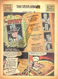 Cover Thumbnail for The Spirit (Register and Tribune Syndicate, 1940 series) #3/7/1943
