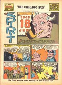 Cover Thumbnail for The Spirit (Register and Tribune Syndicate, 1940 series) #1/31/1943