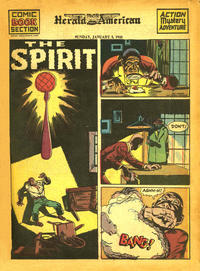 Cover Thumbnail for The Spirit (Register and Tribune Syndicate, 1940 series) #1/3/1943