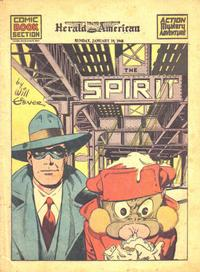 Cover Thumbnail for The Spirit (Register and Tribune Syndicate, 1940 series) #1/10/1943