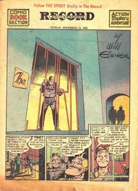 Cover Thumbnail for The Spirit (Register and Tribune Syndicate, 1940 series) #12/13/1942