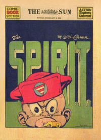 Cover Thumbnail for The Spirit (Register and Tribune Syndicate, 1940 series) #2/8/1942