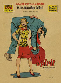 Cover Thumbnail for The Spirit (Register and Tribune Syndicate, 1940 series) #3/1/1942