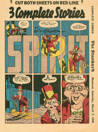 Cover Thumbnail for The Spirit (Register and Tribune Syndicate, 1940 series) #3/8/1942