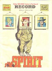 Cover Thumbnail for The Spirit (Register and Tribune Syndicate, 1940 series) #4/26/1942