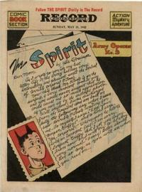 Cover Thumbnail for The Spirit (Register and Tribune Syndicate, 1940 series) #5/31/1942