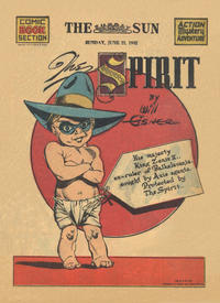 Cover Thumbnail for The Spirit (Register and Tribune Syndicate, 1940 series) #6/21/1942