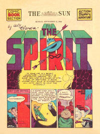 Cover Thumbnail for The Spirit (Register and Tribune Syndicate, 1940 series) #9/13/1942