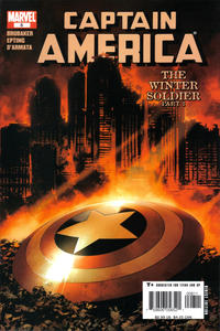 Cover Thumbnail for Captain America (Marvel, 2005 series) #8 [Direct Edition Cover A]