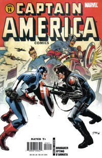 Cover Thumbnail for Captain America (Marvel, 2005 series) #14 [Direct Edition]