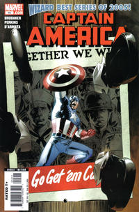 Cover Thumbnail for Captain America (Marvel, 2005 series) #15
