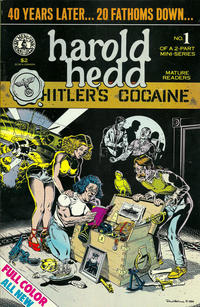 "Cover Thumbnail for Harold Hedd in ""Hitler's Cocaine"" (Kitchen Sink Press, 1984 series) #1"