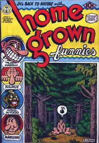 Cover Thumbnail for Home Grown Funnies (Kitchen Sink Press, 1971 series) #1
