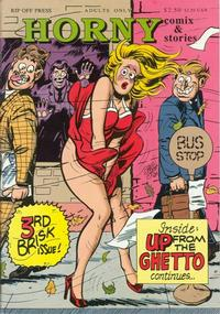 Cover Thumbnail for Horny Stories and Comix (Rip Off Press, 1991 series) #3