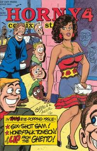 Cover Thumbnail for Horny Stories and Comix (Rip Off Press, 1991 series) #4