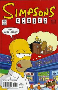 Cover Thumbnail for Simpsons Comics (Bongo, 1993 series) #116