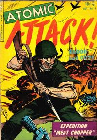 Cover Thumbnail for Atomic Attack (Youthful, 1953 series) #8