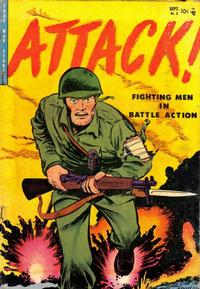 Cover Thumbnail for Attack (Youthful, 1952 series) #3