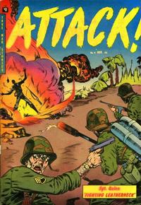 Cover Thumbnail for Attack (Youthful, 1952 series) #4