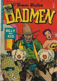 Cover Thumbnail for Famous Western Badmen (Youthful, 1952 series) #14