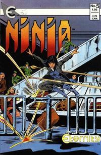 Cover Thumbnail for Ninja (Eternity, 1986 series) #5