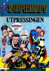 Cover Thumbnail for Superboy (Semic, 1977 series) #5/1977