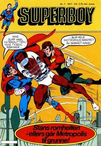 Cover Thumbnail for Superboy (Semic, 1977 series) #7/1977