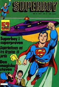 Cover Thumbnail for Superboy (Semic, 1977 series) #8/1977