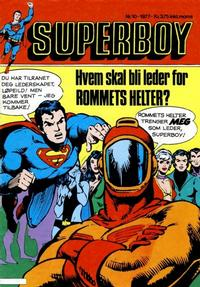 Cover Thumbnail for Superboy (Semic, 1977 series) #10/1977