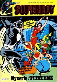 Cover Thumbnail for Superboy (Semic, 1977 series) #3/1978