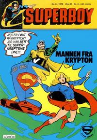 Cover Thumbnail for Superboy (Semic, 1977 series) #6/1978