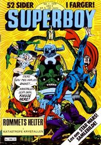 Cover Thumbnail for Superboy (Semic, 1977 series) #1/1979
