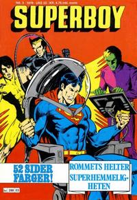 Cover Thumbnail for Superboy (Semic, 1977 series) #3/1979