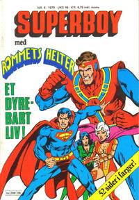 Cover Thumbnail for Superboy (Semic, 1977 series) #6/1979