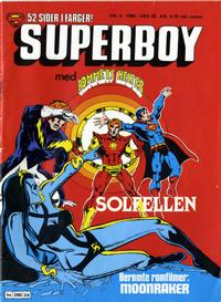Cover Thumbnail for Superboy (Semic, 1977 series) #4/1980