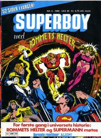 Cover Thumbnail for Superboy (Semic, 1977 series) #5/1980