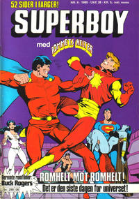 Cover Thumbnail for Superboy (Semic, 1977 series) #6/1980