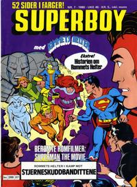 Cover Thumbnail for Superboy (Semic, 1977 series) #7/1980