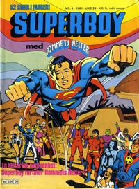 Cover Thumbnail for Superboy (Semic, 1977 series) #4/1981