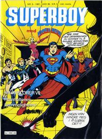 Cover Thumbnail for Superboy (Semic, 1977 series) #5/1981