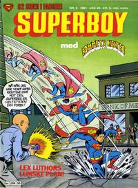 Cover Thumbnail for Superboy (Semic, 1977 series) #6/1981