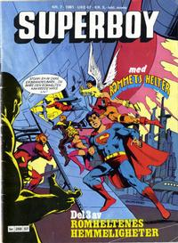 Cover Thumbnail for Superboy (Semic, 1977 series) #7/1981