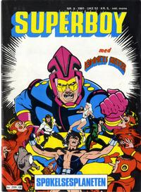 Cover Thumbnail for Superboy (Semic, 1977 series) #8/1981