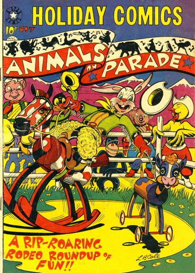 Cover for Holiday Comics (Star Publications, 1951 series) #7