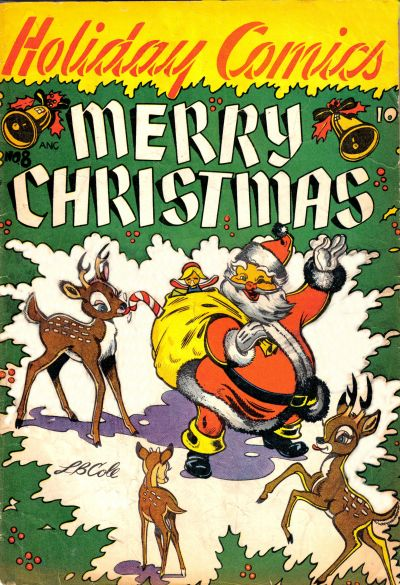 Cover for Holiday Comics (Star Publications, 1951 series) #8