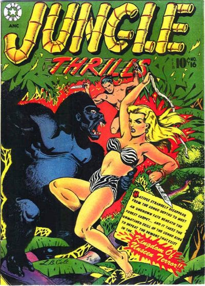 Cover for Jungle Thrills (Star Publications, 1952 series) #16